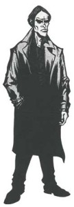 Doctor Strange's vampire brother, Victor, as depicted by John Kissee. Victor Strange is a trademark of Marvel Characters, Inc.