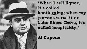 Bootlegger Al Capone