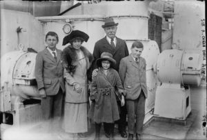 Jean Conan Doyle and her family